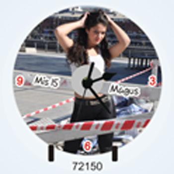Relojes souvenirs 72150 reloj cd para 15 a os con foto - Mecanismo para reloj de pared ...