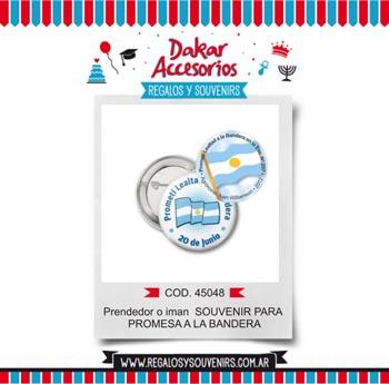 45048 - Prendedor - Souvenir para Promesa a la Bandera