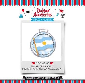 43100 - Medalla para Promesa a la Bandera ( 3 tama�os)