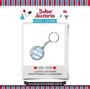10100 - LLAVERO SOUVENIR PARA PROMESA A LA BANDERA