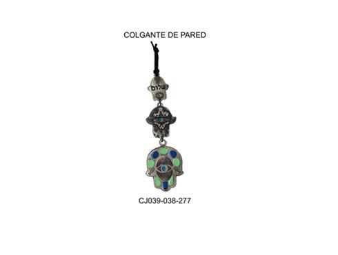 CJ039-038-277 COLGANTE DE PARED HAMSA