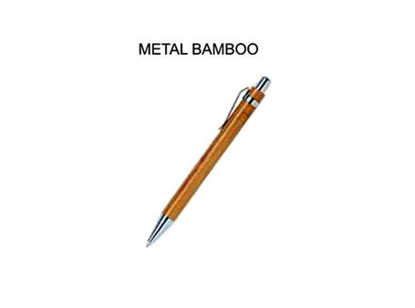 BOLIGRAFO METAL BAMBOO